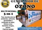 CAÑON DE OZONO Y PURIFICADOR DE PISCINA