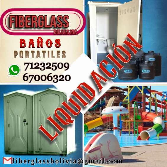 Fabrica de toboganes, parques acuáticos, piscinas tipo playa, baños portátiles